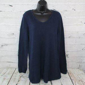 Karen Scott Waffle Knit Tunic Sweater